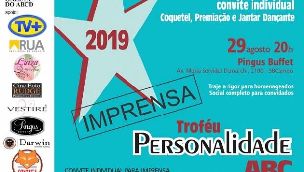 convite personalidade 2019 IMPRENSA